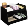 BOARDWALK Condiment Organizer - 6-Compartment, Black