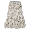 BOARDWALK Cotton Mop Heads - White, 4-Ply, #32 Band