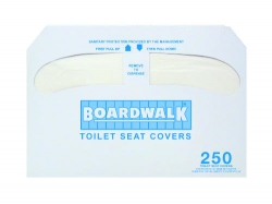 BOARDWALK Premium Toilet Seat Covers - 10 Packs (2500)