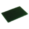 Continental Heavy-Duty Scouring Pad - Dark Green, 10/PK, 6 Packs/BX