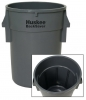 Continental Huskee® BackSaver™ Receptacles - 44 Gal