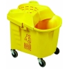 Continental Institutional Combo Pack with Casters - 35 Quart, Yellow