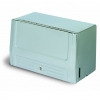 "Continental Chrome Single Fold Self-Locking Towel Dispenser Cabinet - 12-13/16"" L X 6-1/2"" W X 7-1/2"" H"