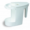 "Continental Sanitary Caddy for Cleaner &Bowl Mop - 4"" W X 7-1/2"" H X 6"" D"