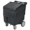 Continental Conserve Mobile Ice Bin, 125 lb Ice Caddie - Black
