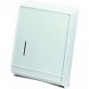 "Continental Plastic Combo Towel Dispenser Cabinet - 11-1/4"" W X 15-3/8"" H X 4-1/16"" D"