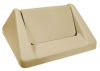 Continental Beige Swing Top Lids - Fits 25 Gal. and 32 Gal
