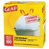 "CLOROX Glad® Drawstring Tall Kitchen Bags - 24"" X 48""X 0.95"""