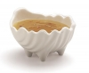 Carlisle White Sea Shell Sauce Cup  - 2 Oz.