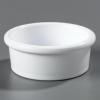 Carlisle White Standard Ramekin Sauce Cup - 2.5 Oz.
