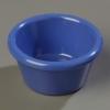 Carlisle Smooth Ramekin Sauce Cup - Ocean Blue, 2 OZ.