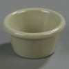 Carlisle Smooth Ramekin Sauce Cup - Firenze Green, 2 OZ.