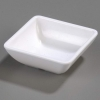 Carlisle Single Square Ramekin Dish - White