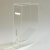 Carlisle Clear Whole Bean Dispenser - 10 to 12 Pound