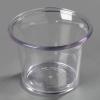 Carlisle Clear Sauce Cup  - 2.5 Oz.
