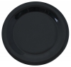"Carlisle 10-1/2"" Sierrus™ Narrow Rim Dinner Plate - Black"