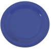 "Carlisle 10-1/2"" Sierrus™ Narrow Rim Dinner Plate - Ocean Blue"