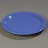 """Carlisle 12"""" Sierrus™ Wide Rim Dinner Plate - Ocean Blue"""