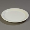 "Carlisle 9"" Sierrus™ Narrow Rim Dinner Plate - Bone"
