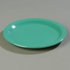 "Carlisle 9"" Sierrus™ Wide Rim Dinner Plate - Meadow Green"