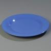 """Carlisle 9"""" Sierrus™ Wide Rim Dinner Plate - Ocean Blue"""