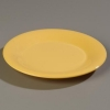 "Carlisle 9"" Sierrus™ Wide Rim Dinner Plate - Honey Yellow"