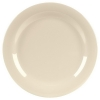 "Carlisle 10-1/2"" Sierrus™ Wide Rim Dinner Plate - Bone"