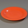 "Carlisle 9"" Sierrus™ Wide Rim Dinner Plate - Sunset Orange"