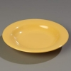 "Carlisle 9-1/4"" Sierrus™ Pasta/Soup/Salad Bowl - Honey Yellow"