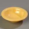 "Carlisle 4-3/4"" Sierrus™ Rimmed Fruit Bowl - Honey Yellow"