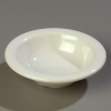 "Carlisle 4-3/4"" Sierrus™ Rimmed Fruit Bowl - Bone"