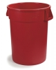 Carlisle Bronco™ Waste Containers  - Red, 32 Gal.
