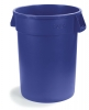 Carlisle Bronco™ Waste Containers  - Blue, 32 Gal.
