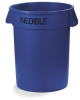 Carlisle Bronco™ Blue Waste Container - 32 Gal.