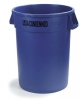 Carlisle Bronco™ Blue Wast Container USDA Condemned - 32 Gal.