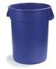 Carlisle Bronco™ 55 gal Bronco Container - Blue