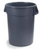 Carlisle Bronco™ 55 gal Bronco Container - Gray