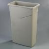 Carlisle TrimLine™ Beige Container - 23 Gal.