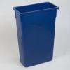 Carlisle TrimLine™ Blue Container - 23 Gal.