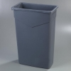 Carlisle TrimLine™ Gray Container - 23 Gal.