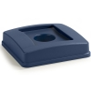 Carlisle Centurian™ Bottle/Can Recycle Lid - Blue