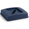 Carlisle Centurian™ Paper Recycle Lid - Blue