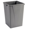 Carlisle Centurian™ Gray Waste Container - 50 Gallon