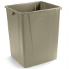 Carlisle Beige Waste Container - 56 Gallon