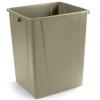 Carlisle Centurian™ Beige Waste Container - 50 Gallon