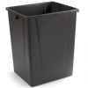 Carlisle Brown Waste Container - 56 Gallon