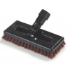 "Carlisle Swivel Space® Scrub Power Floor Brush - With Nylon Grit Bristles 8"""