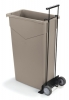 Carlisle TrimLine™ Wire Frame Dolly for 23 Gal. TrimLine™ Container - Black