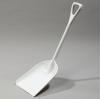 "Carlisle Sparta® White Food Service Shovel - 10.25"" W"
