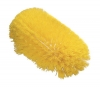 "Carlisle Sparta® Spectrum® Yellow Jumbo Tank Brush - 6"" x 10-1/2"""